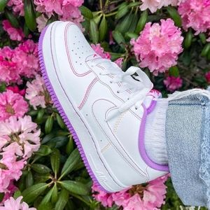 Air Force 1 low - Purple White Pink